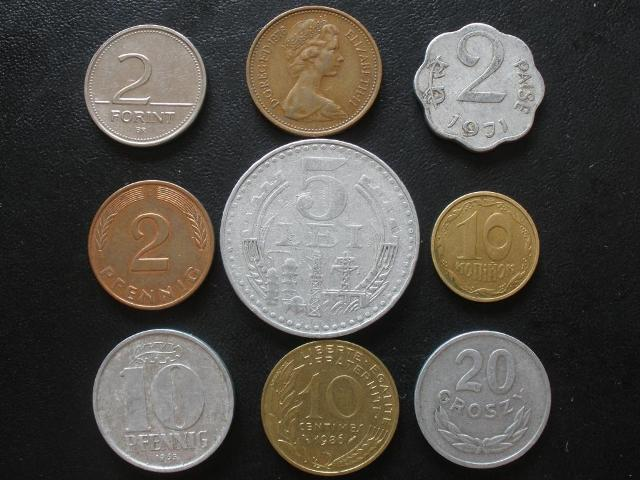 Продать зарубежные монеты 1980 года